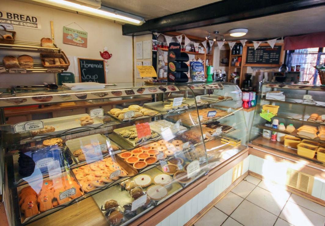 Weeks Bakery Tea Room, Goudhurst, Tunbridge Wells, Kent