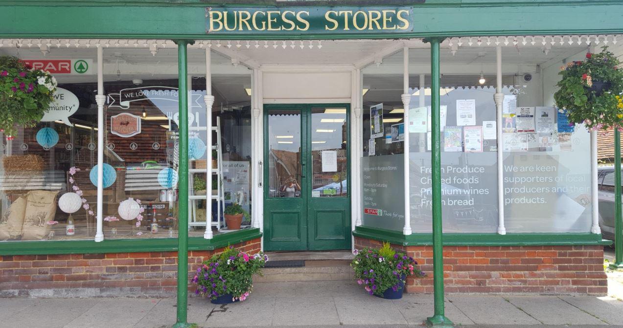 Burgess Stores in Goudhurst, Tunbridge Wells