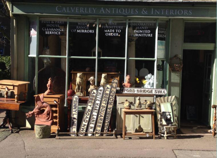 Calverley Antiques, Royal Tunbridge Wells