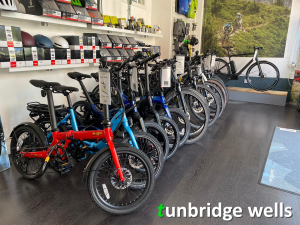Energise e-bikes shop, Royal Tunbridge Wells