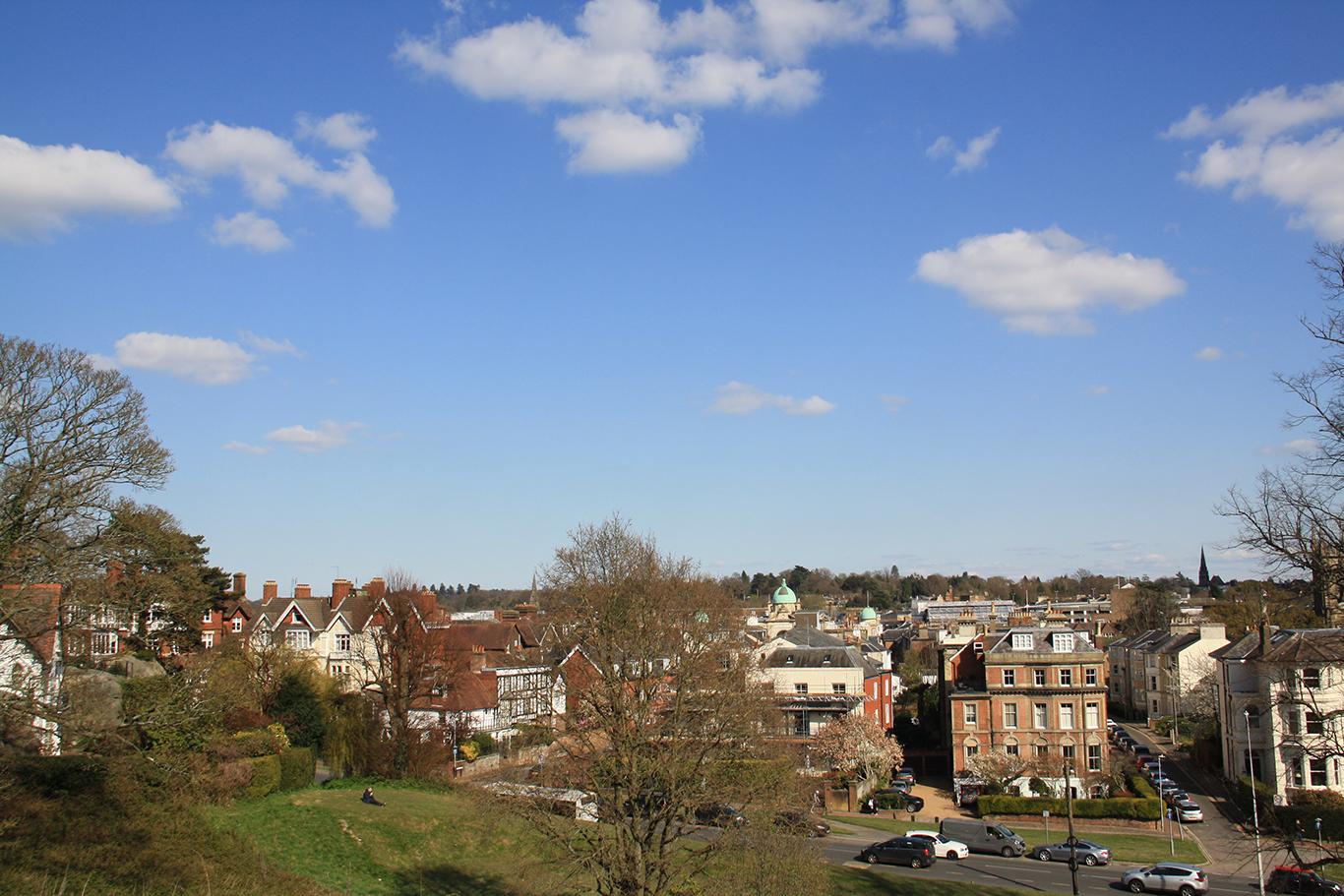 View of Royal Tunbridge Wells by Nicci Kimmel