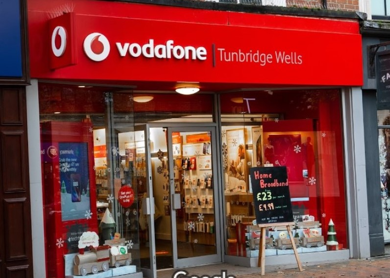 Image of Vodafone front of store