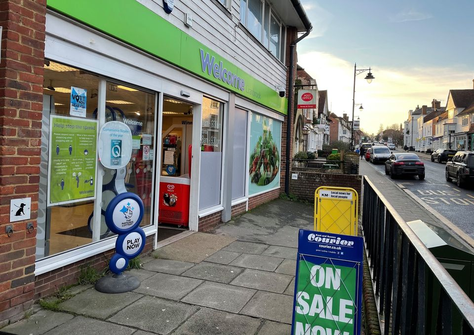 Image of Welcome Stores front of shop