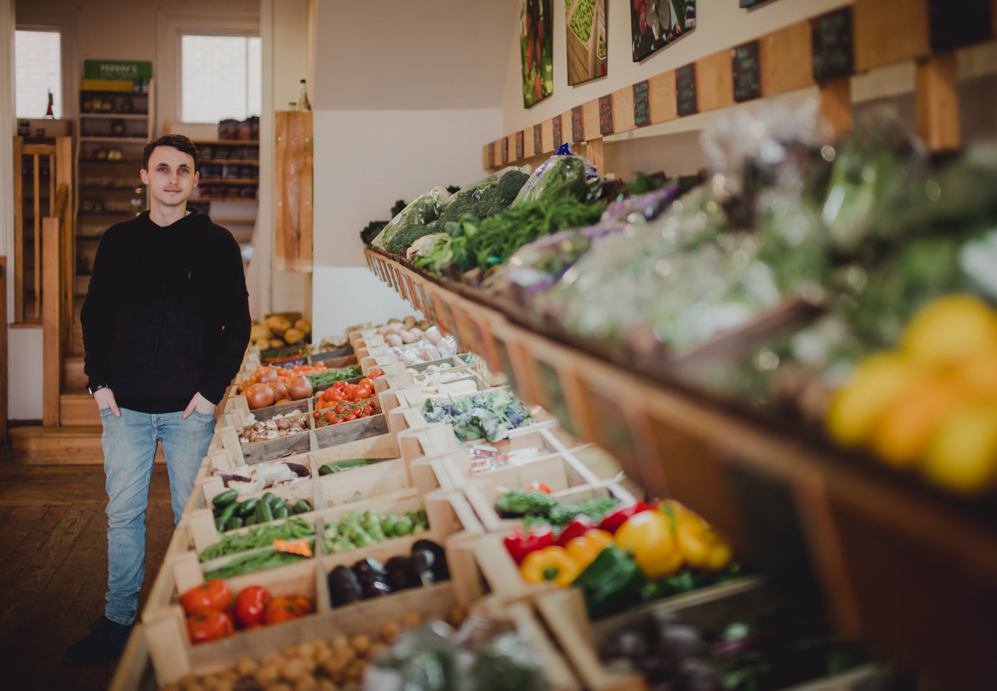 Locality greengrocer, Steve Fuller, Camden Road, Royal Tunbridge Wells