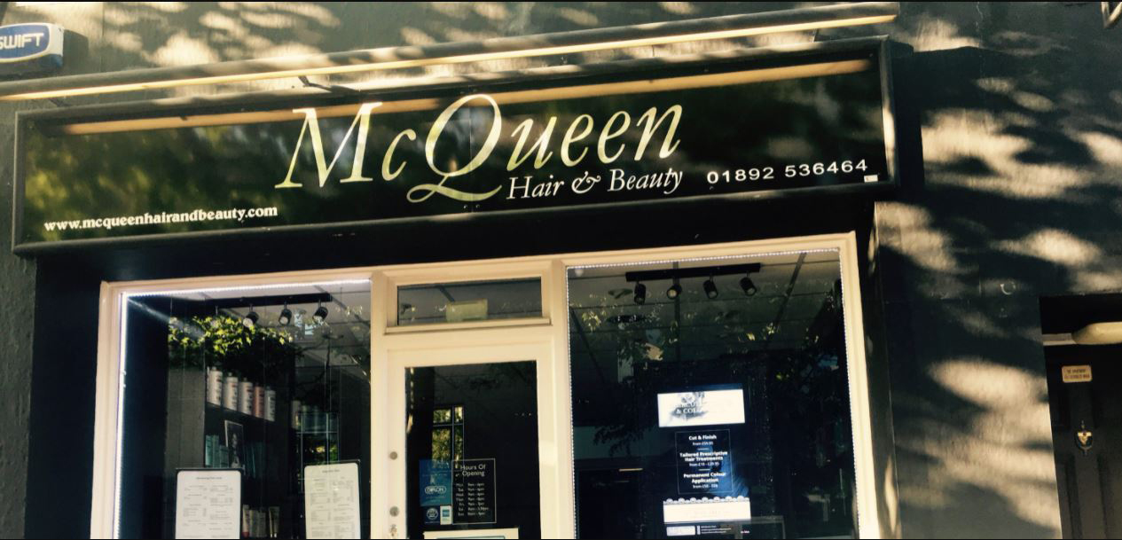 McQueen Hair and Beauty Salon, Royal Tunbridge Wells