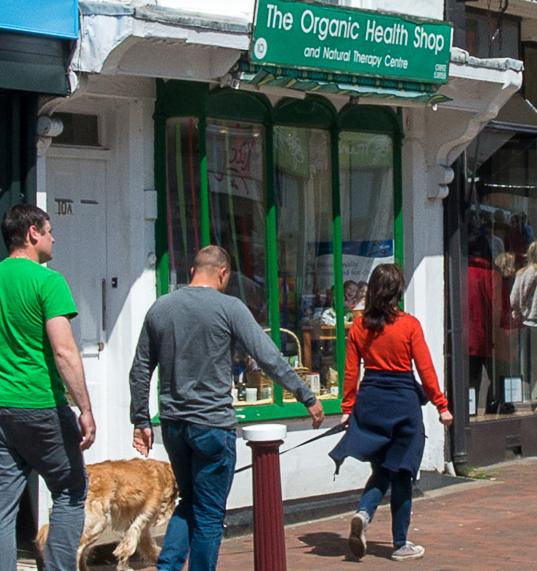 The Organic Health Shop, Royal Tunbridge Wells High Street