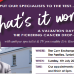 Valuation Day Flyer at The Corn Exchange