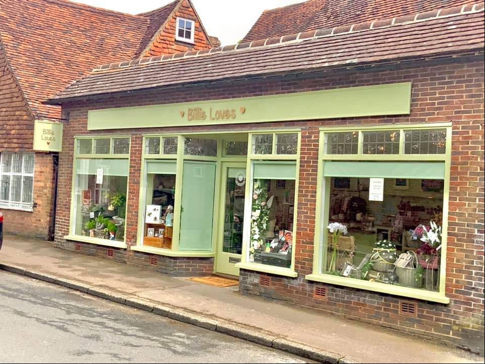 Billie Loves boutique in Goudhurst, Tunbridge Wells region