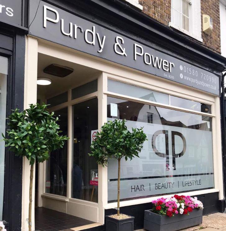Purdy and Power Hair Salon, Cranbrook, Kent