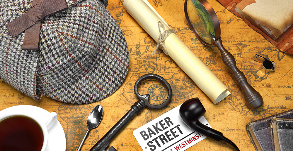 Sherlock Holmes Trail at Groombridge Place
