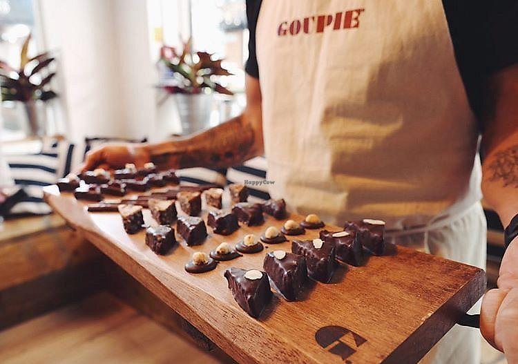 Macknade and Goupie tastings at Hoopers