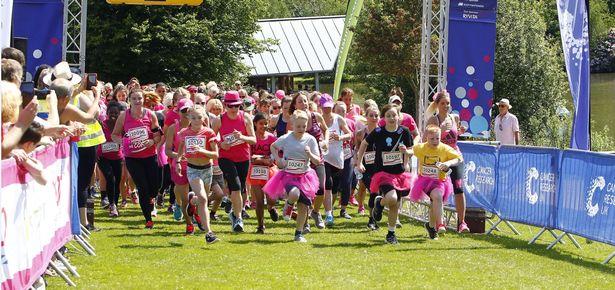 Image of Royal Tunbridge Wells 3K Race for Life at Dunorlan Park