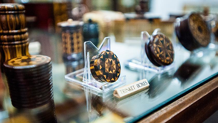 Marquetry Tunbridgeware, the original holiday souvenirs, Tunbridge Wells Museum