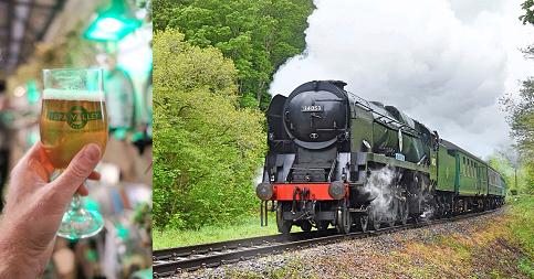 Sir Keith Park locomotive image at Spa Valley Railway by Steve Lee