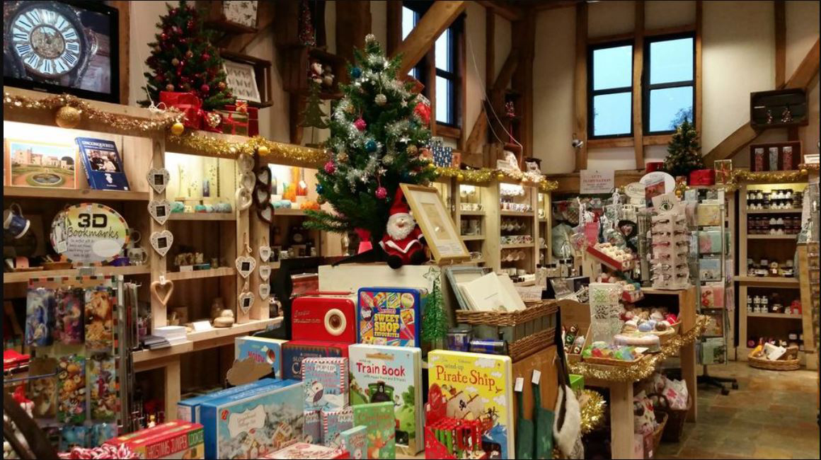 Christmas gifts at the Penshurst Place Christmas Shop