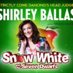 Snow White and the Seven Dwarfs Pantomime promotion with Shirley Ballas in Royal Tunbridge Wells at The Assembly Hall Theatre